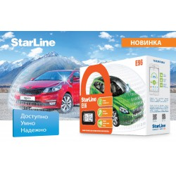 StarLine E96 BT 2CAN/4LIN GSM/GPS 2SIM  с установкой